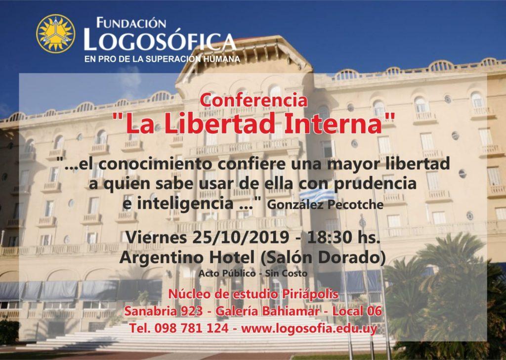 Hotel Argentino Conferencia Logosofia